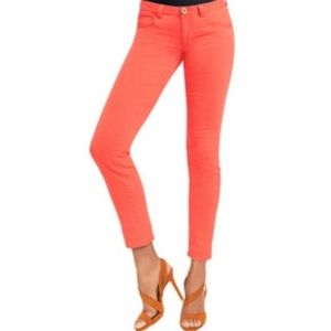 Cabi | Lobster Pigment Skinny Jeans